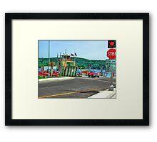 Merrimac Ferry Framed Print