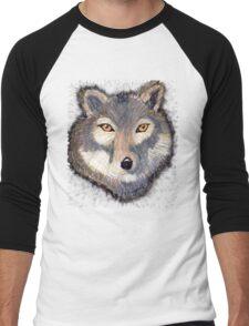 Wolf Men's Baseball ¾ T-Shirt