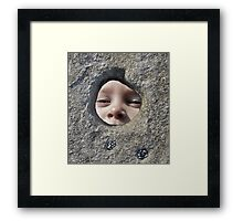 A Childs View Framed Print
