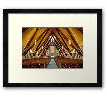 St James UMC Framed Print