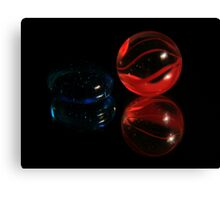 Mr. and Mrs. Marble Canvas Print