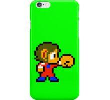 Alex Kidd iPhone Case/Skin