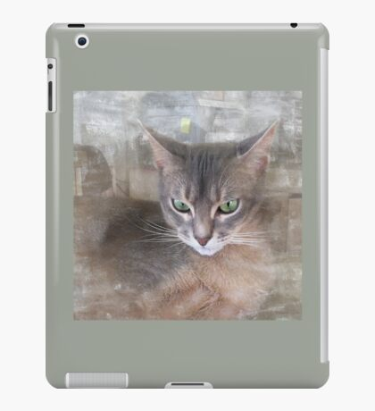 Green Eyes iPad Case/Skin