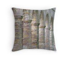 Fountains Abbey Arches Throw Pillow