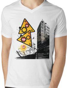 Industrial Carnage Mens V-Neck T-Shirt