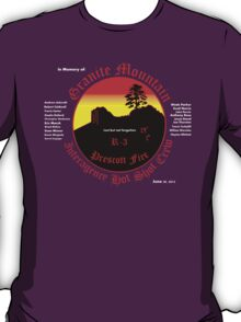 Prescott Granite Mountain Hotshots Memorial T-Shirt T-Shirt