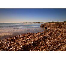 La spiaggia di Vendicari Photographic Print