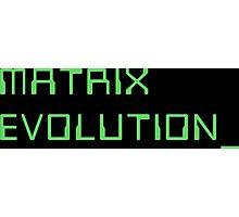 Digimon Tamers Matrix Evolution Photographic Print