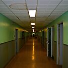 Hospital Hallway by Bobby Rognlien