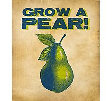Grow A Pear Photographic Print
