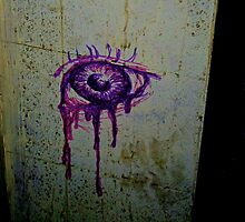 Purple Eye by Bobby Rognlien