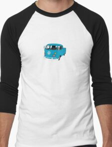 Blue Split Screen VW Kombi Pick up Men's Baseball ¾ T-Shirt