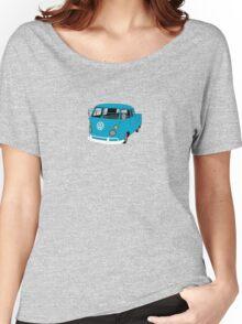 Blue Split Screen VW Kombi Pick up Women's Relaxed Fit T-Shirt