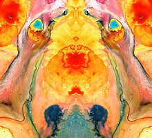 Mother Nature - Abstract Goddess Art By Sharon Cummings by Sharon Cummings