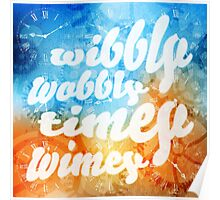 Time Wobbles Poster