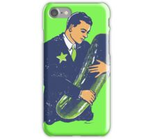 Hold The Pickle - American Oddities #3 iPhone Case/Skin