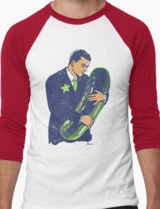 Hold The Pickle - American Oddities #3 Men's Baseball ¾ T-Shirt