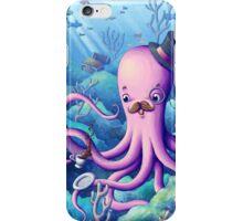 A Fancy Octopus Dilemma iPhone Case/Skin