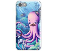A Fancy Octopus Dilemma iPhone Case/Skin