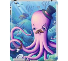 A Fancy Octopus Dilemma iPad Case/Skin