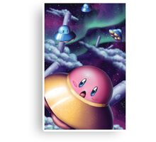 UFO Kirby Canvas Print