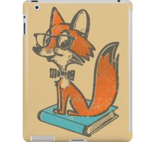 Fox Librarian iPad Case/Skin
