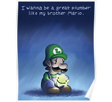 Luigi's Wish Poster