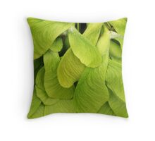 Maple Wings Throw Pillow