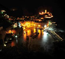 Vernazza at Night by Robert Case