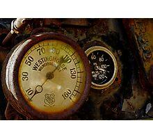 Buffalo Springfield Dials Photographic Print