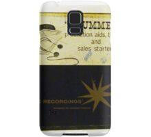 Advertising Drummers lp Samsung Galaxy Case/Skin