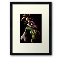Cubone Kid Framed Print