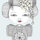 Little Blossom Girl by Danielle Reck