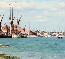 Busy Maldon by the sea, Essex by MichelleRees