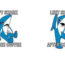 Coffee Left Shark by Amznfx
