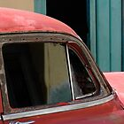 Rusty Red Car, Havana, Cuba by buttonpresser