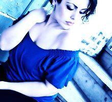 she's got the blues. by Angel Warda