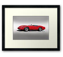 1961 Ferrari TR61 Rossa Corso I Framed Print