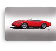 1961 Ferrari TR61 Rossa Corso I Canvas Print