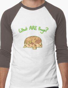 What ARE Frogs? (Desert Rain edition) Men's Baseball ¾ T-Shirt