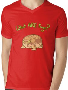 What ARE Frogs? (Desert Rain edition) Mens V-Neck T-Shirt