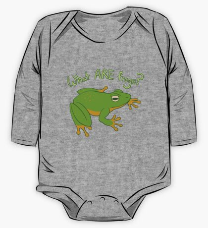 What ARE Frogs? (Basic edition) One Piece - Long Sleeve