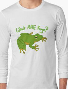 What ARE Frogs? (Basic edition) T-Shirt