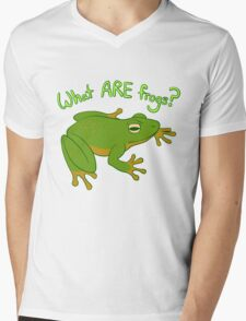 What ARE Frogs? (Basic edition) Mens V-Neck T-Shirt