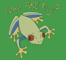 What ARE Frogs? (Tree edition) Kids Clothes