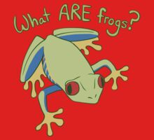 What ARE Frogs? (Tree edition) Kids Tee