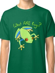 What ARE Frogs? (Tree edition) Classic T-Shirt