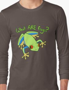 What ARE Frogs? (Tree edition) Long Sleeve T-Shirt