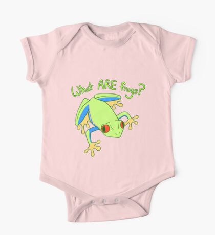 What ARE Frogs? (Tree edition) One Piece - Short Sleeve