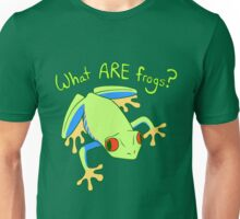 What ARE Frogs? (Tree edition) Unisex T-Shirt